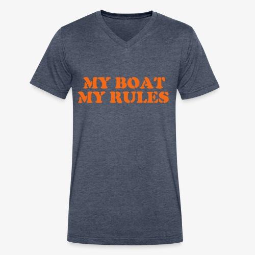The Captain  - Men's V-Neck T-Shirt by Canvas