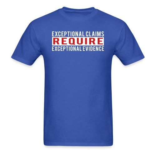 Exceptional Claims - Men's T-Shirt