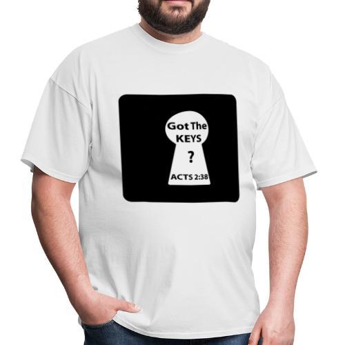 Keys To The Kingdom - Men's T-Shirt
