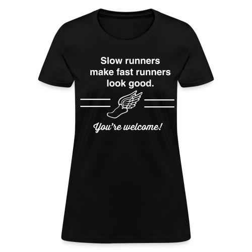 slow runners - Women's T-Shirt