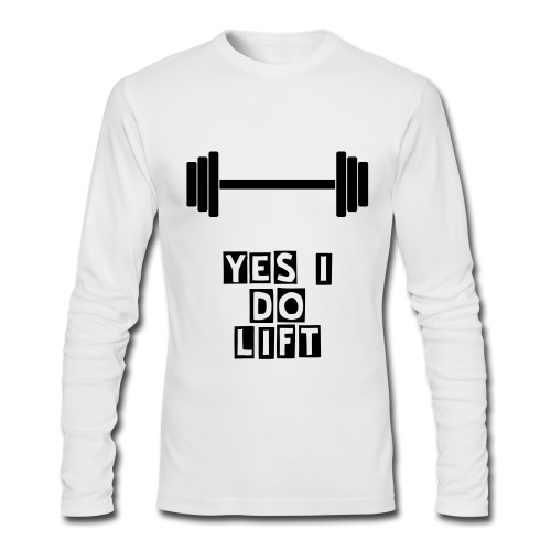 Gym Rat - Men's Long Sleeve T-Shirt by Next Level