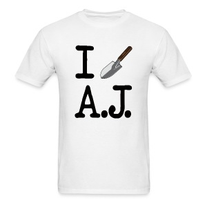 I Dig A.J. White T-Shirt - Men's T-Shirt