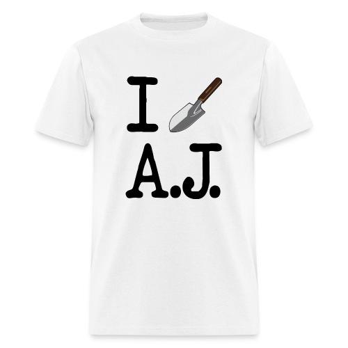 I Dig A.J. White T-Shirt - Men's T-Shirt
