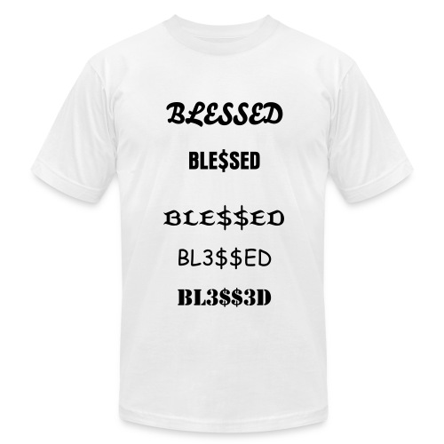 BLESSED - Men's  Jersey T-Shirt