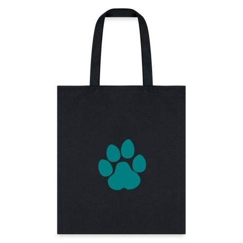 Pawprint Bookbag - Tote Bag