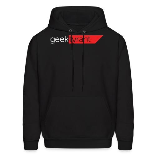 Mens Hoodie  // GeekTyrant RED Logo - Men's Hoodie