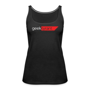 Ladies Tank Top  // GeekTyrant RED Logo - Women's Premium Tank Top