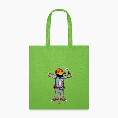 A scarecrow in Hip Hop Style  Bags & backpacks