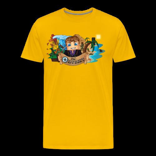 The Odyssey MEN - Men's Premium T-Shirt