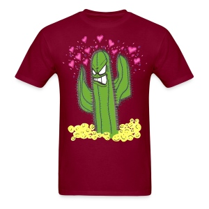 Cactus Hearts - Men's T-Shirt