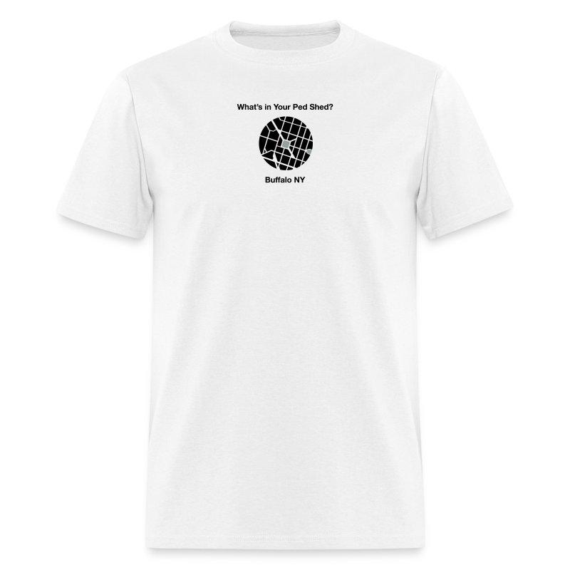 NY Ped Shed (BK) - Men's T-Shirt