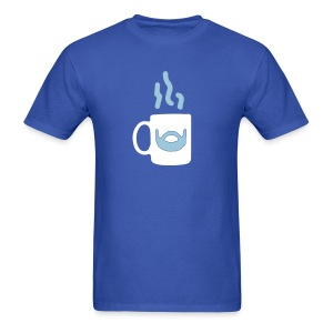 Men Love Coffee Mugs - Men's T-Shirt