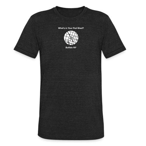 NY Ped Shed (WHT) - Unisex Tri-Blend T-Shirt
