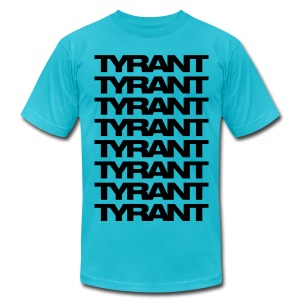Mens T-Shirt // TYRANT - Men's T-Shirt by American Apparel