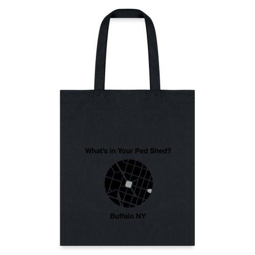 NY Ped Shed (BK) - Tote Bag