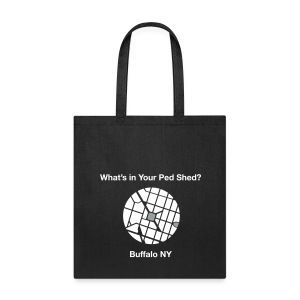 NY Ped Shed (WHT) - Tote Bag