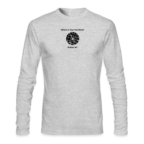 NY Ped Shed (BK) - Men's Long Sleeve T-Shirt by Next Level