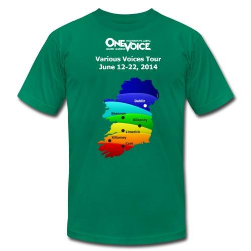 Women's Slim fitting One Voice Ireland - Men's  Jersey T-Shirt