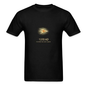 UFO 1350 AD Ancient Astronauts - Men's T-Shirt