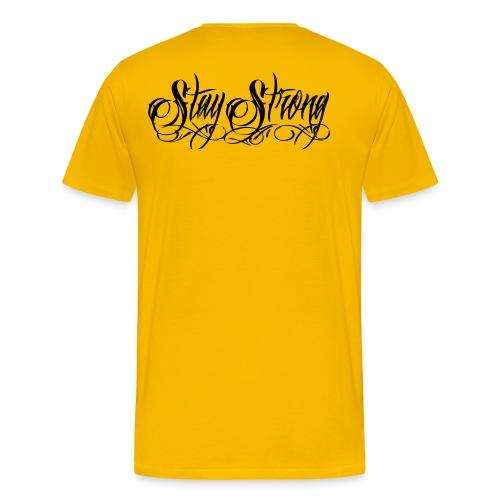 #StayStrongYellow - Men's Premium T-Shirt
