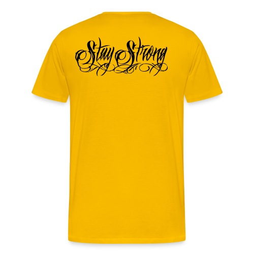 #StayStrongYellow - Men's Premium T-Shirt