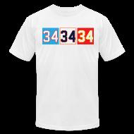 T-Shirts ~ Men's T-Shirt by American Apparel ~ Thirty-Four