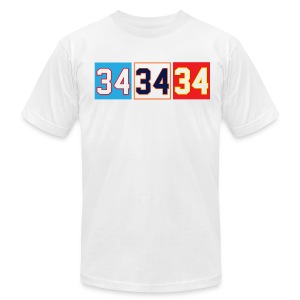 Thirty-Four - Men's T-Shirt by American Apparel