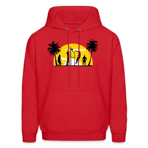 beach volleyball Hoodies - Men's Hoodie
