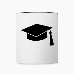 graduation hat Bottles & Mugs