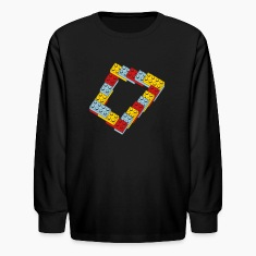 optical illusion - endless steps Kids' Shirts