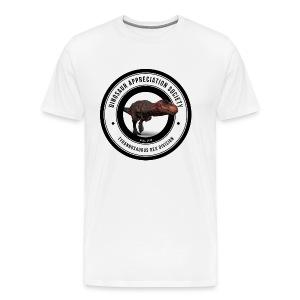 Dinosaur Appreciation Society: T-Rex - Men's Premium T-Shirt