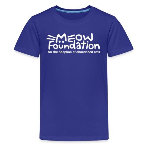 MEOW Foundation Kids Tee - Kids' Premium T-Shirt