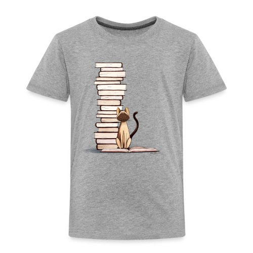 The Reader II Toddler Tee - Toddler Premium T-Shirt