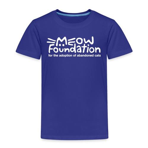MEOW Foundation Toddler Tee - Toddler Premium T-Shirt