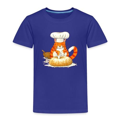 Chef Cat Toddler Tee - Toddler Premium T-Shirt
