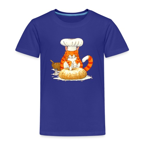 Chef Cat Toddler Tee - Toddler Premium T-Shirt