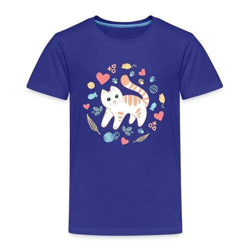 Kitty's Favorite Things Toddler Tee - Toddler Premium T-Shirt