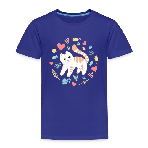 Kitty's Favorite Things Toddler Tee - Toddler Premium T-Shirt