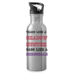 train like a shadowhunter water bottle - Water Bottle
