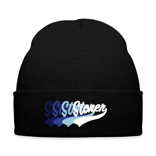 Stoner - Knit Cap with Cuff Print