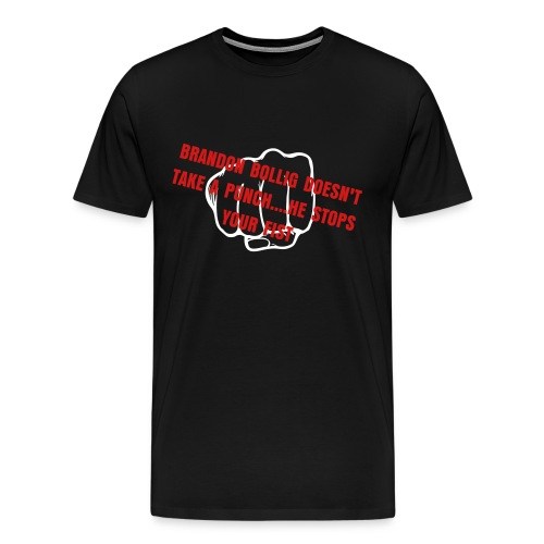 Bollig Doesn't take a punch - Men's Premium T-Shirt