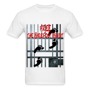 Free The Barefoot Bandit Short Sleeve T-shirt - Men's T-Shirt