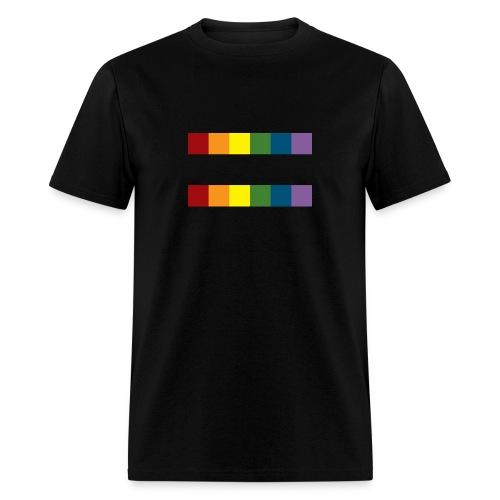 Men's Rainbow Equal T-Shirt - Men's T-Shirt