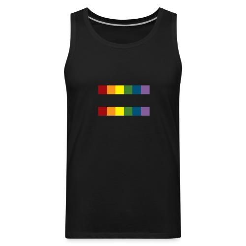 Men's Rainbow Equal Premium Tank - Men's Premium Tank