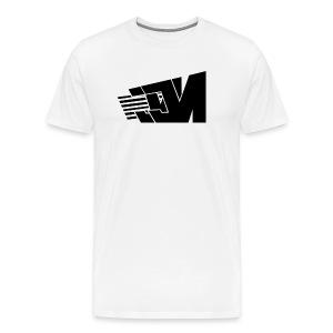 Clean JM Stripes T-Shirt - Men's Premium T-Shirt