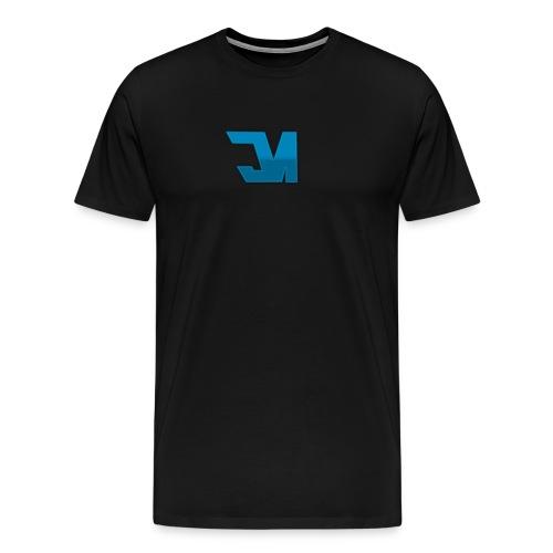 Blue JM T-Shirt - Men's Premium T-Shirt