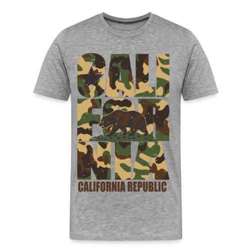 Cali Camo - Men's Premium T-Shirt
