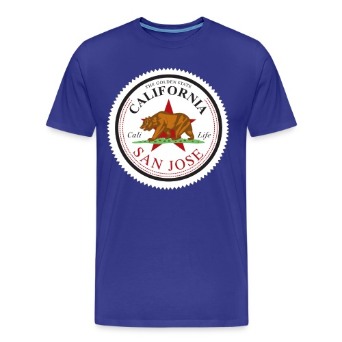 California San Jose  - Men's Premium T-Shirt