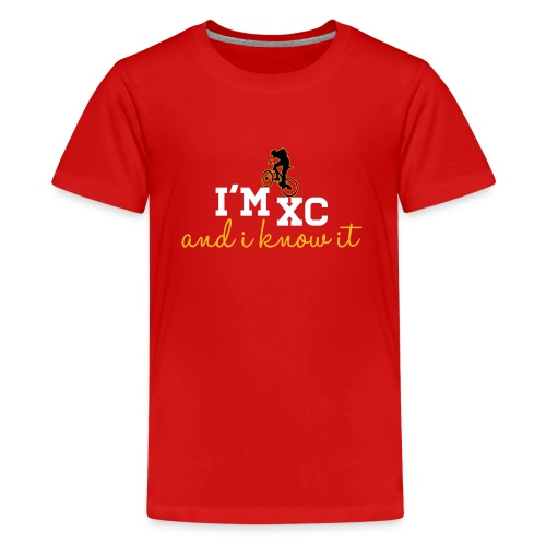 I'm XC and I Know It (Kids) - Kids' Premium T-Shirt
