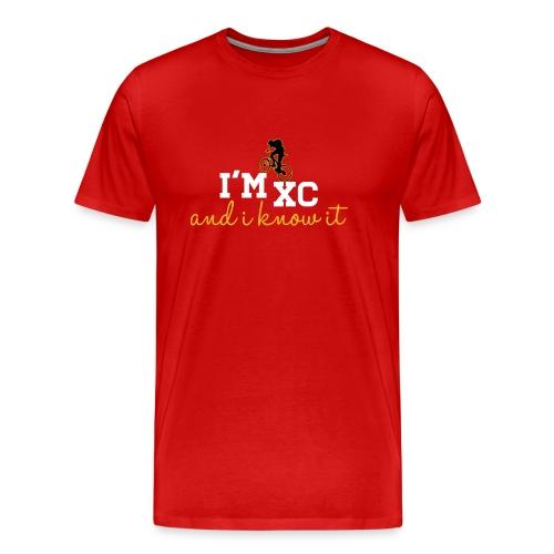 I'm XC and I Know It (Mens) - Men's Premium T-Shirt